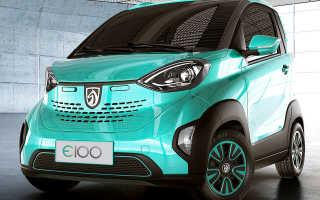 Самый дешёвый электромобиль Baojun E100