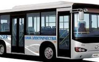 Higer Quazar — казахский электробус