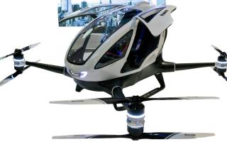 Пассажирский квадрокоптер Ehang 184