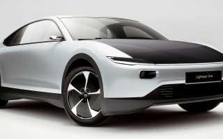 Lightyear One — электромобиль с солнечными панелями